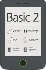 PocketBook Basic 2PB614W-Y-WW Grey